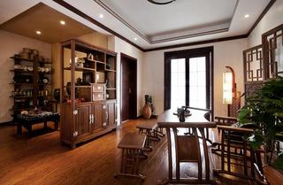 中式别墅装修书房布置图
