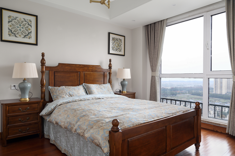 四居室现代美式空间次卧欣赏图