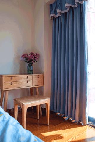 124平北欧风之家卧室梳妆台图片