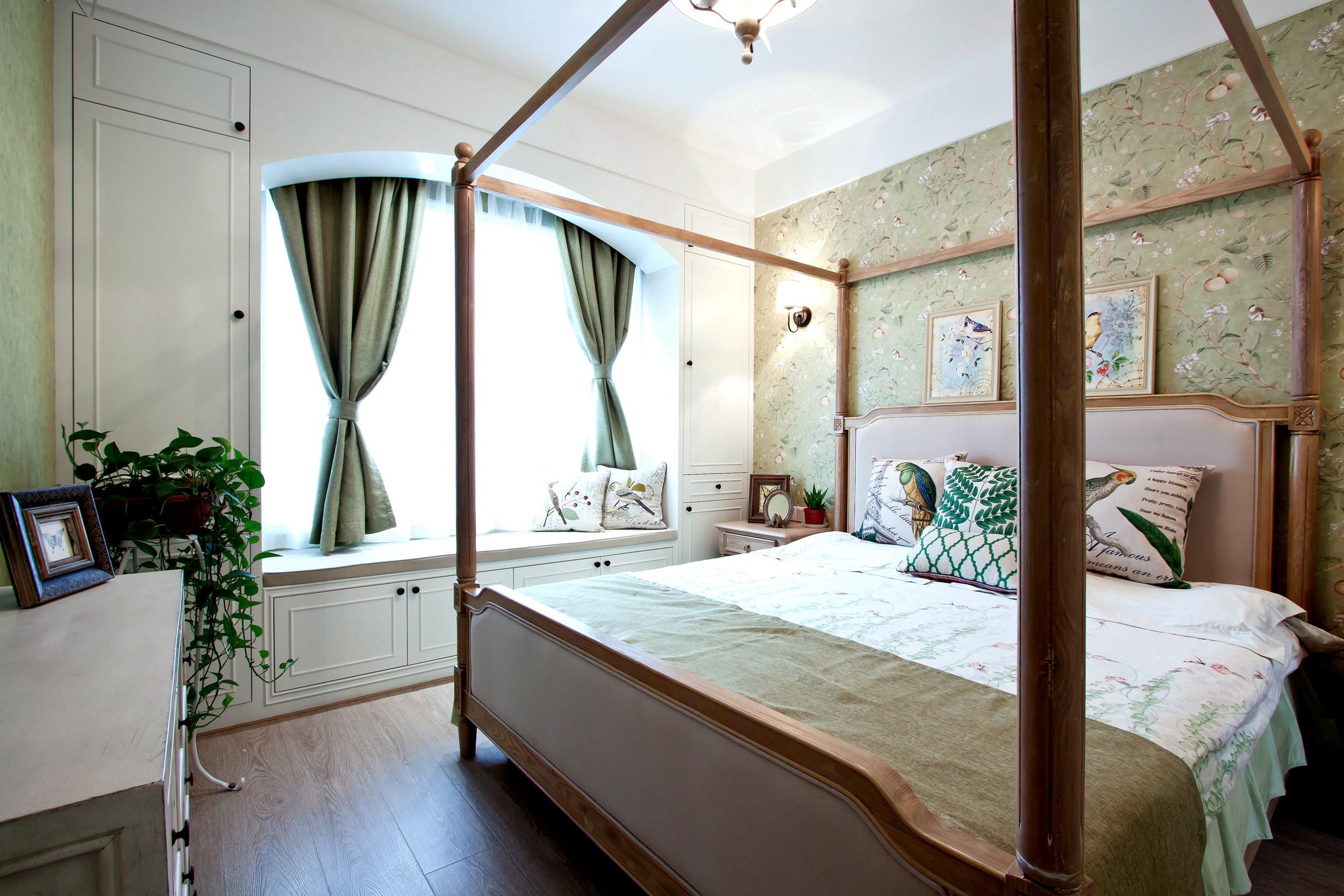 大户型美式装修卧室效果图