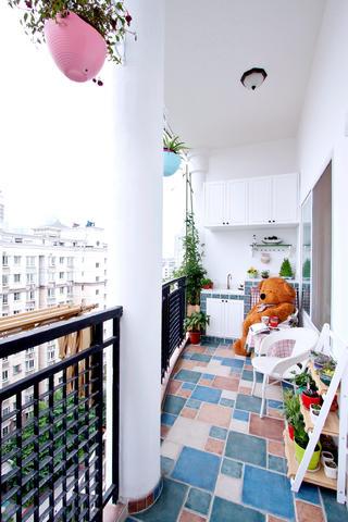 大户型美式装修阳台欣赏图