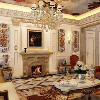 法式别墅装修效果图 尊贵奢华