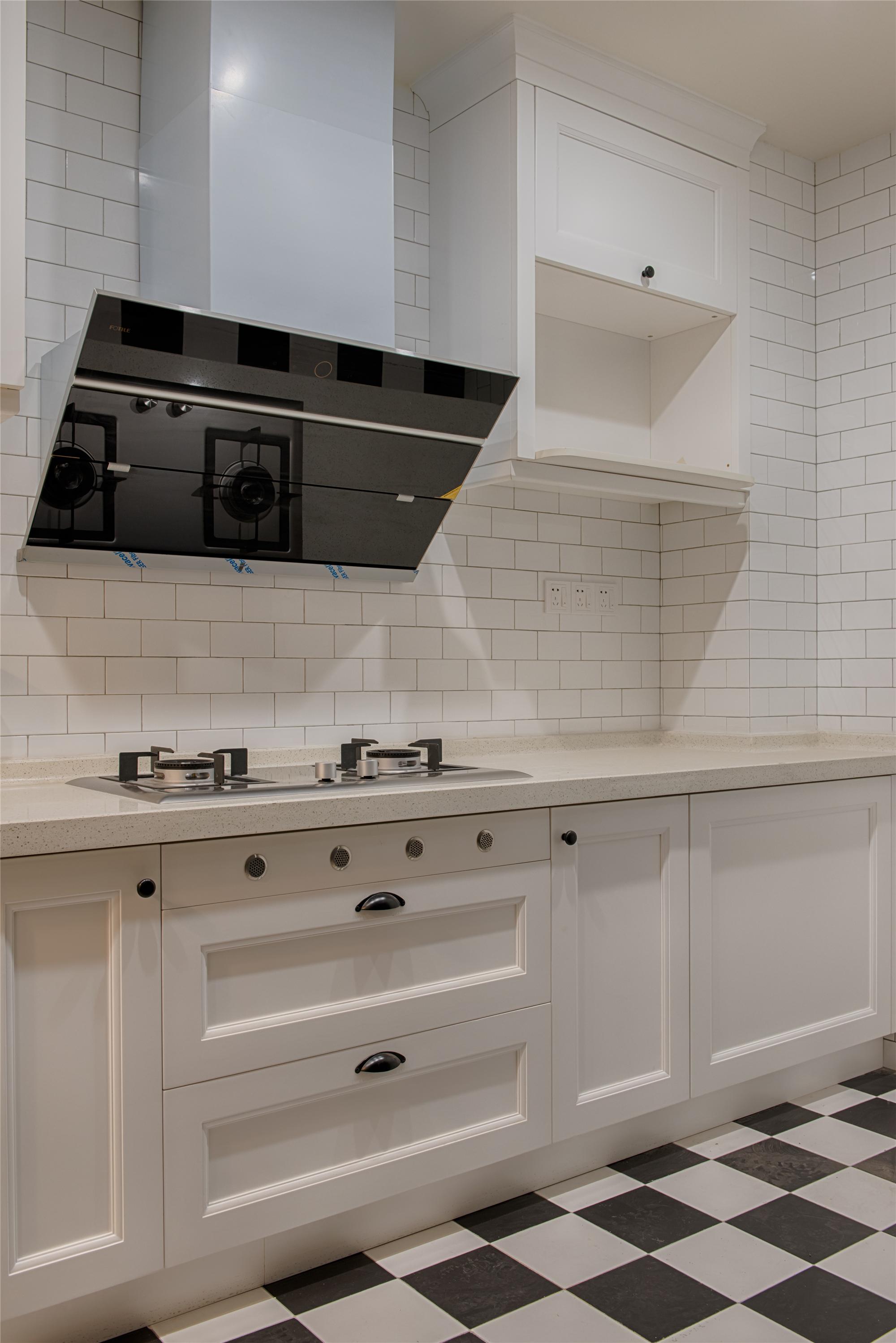 北欧风格家厨房设计图