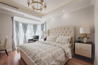 130㎡美式装修卧室效果图