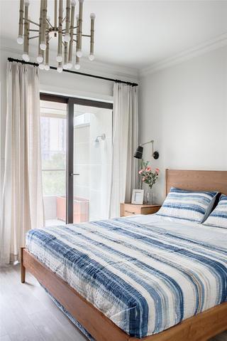 北欧风格家卧室效果图