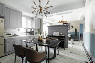 四居室北欧风情家厨餐厅设计图