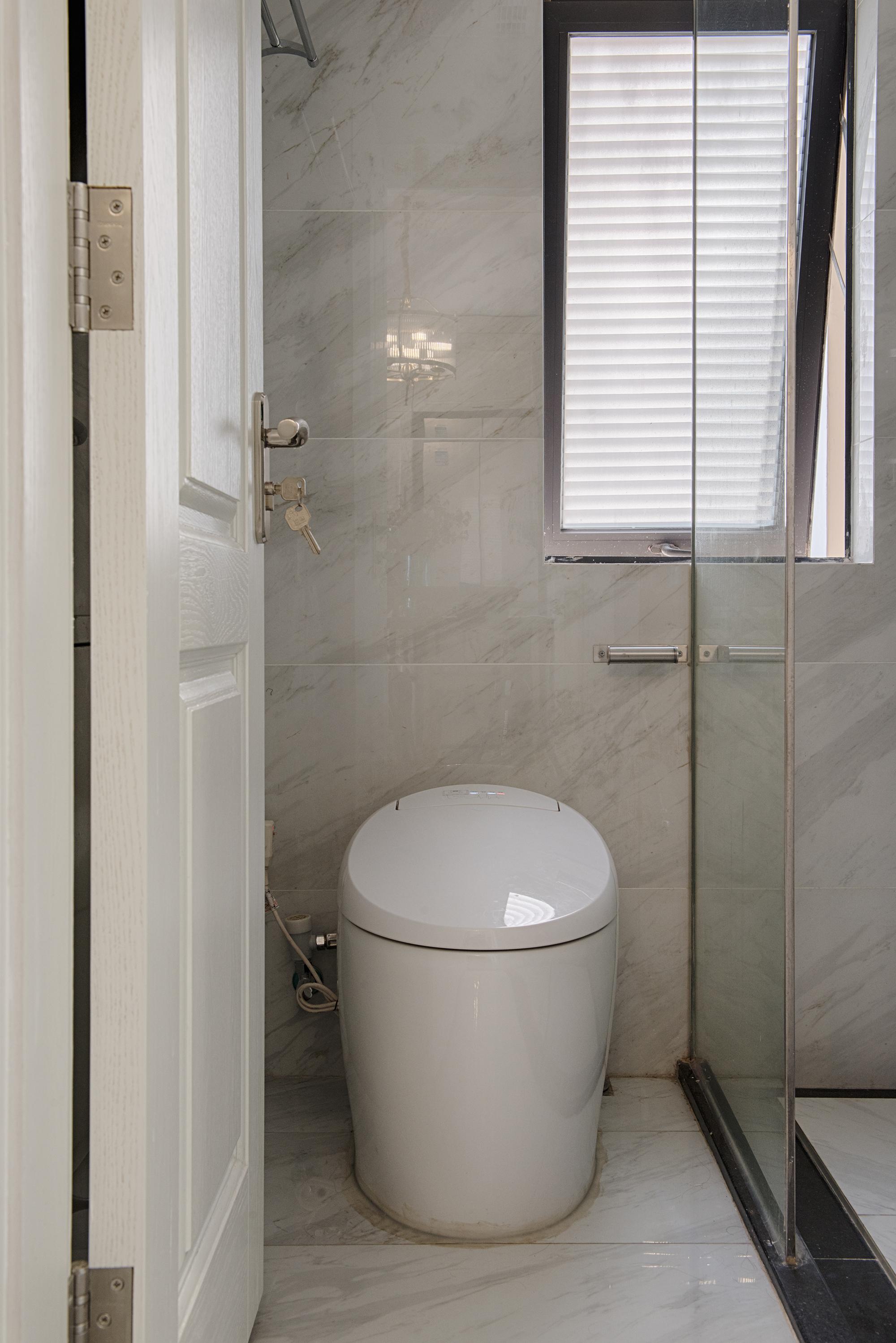 60㎡美式装修卫生间效果图
