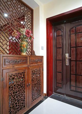 新中式復式裝修玄關設計