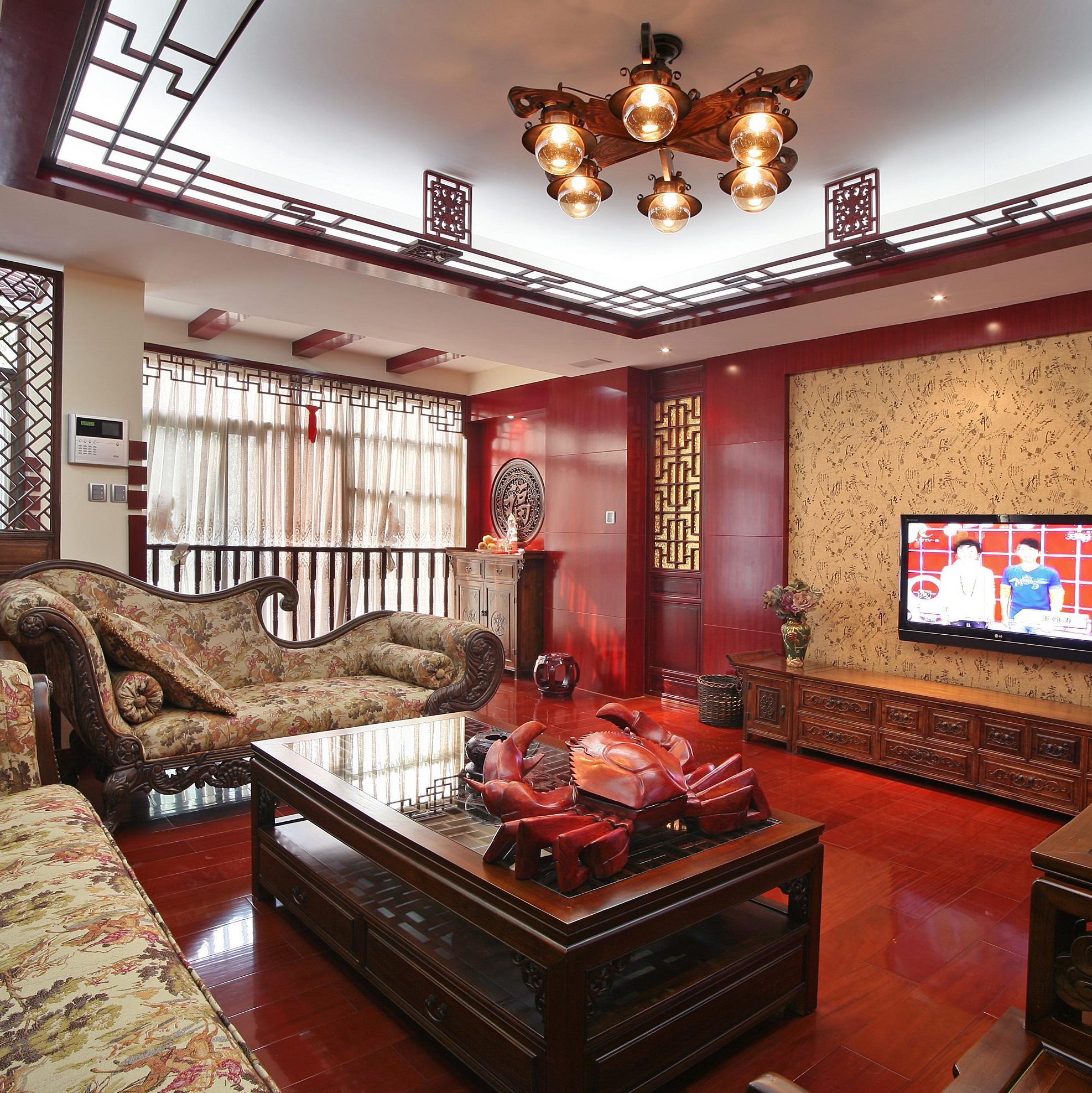 新中式复式装修设计 大气秀美