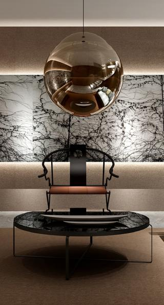 中式风装修客厅局部图片
