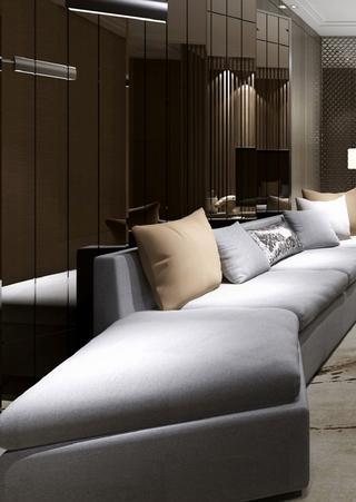 中式风装修沙发图片