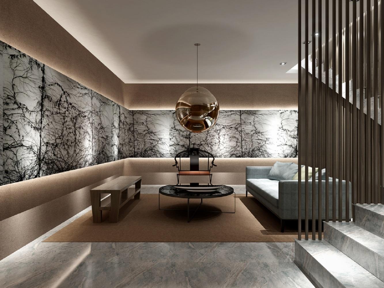 中式风装修客厅效果图