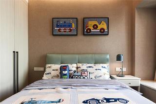 130平混搭风格装修儿童房设计图