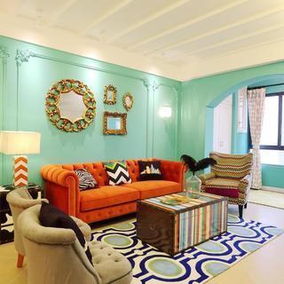 80平三居室设计 俏皮又时尚