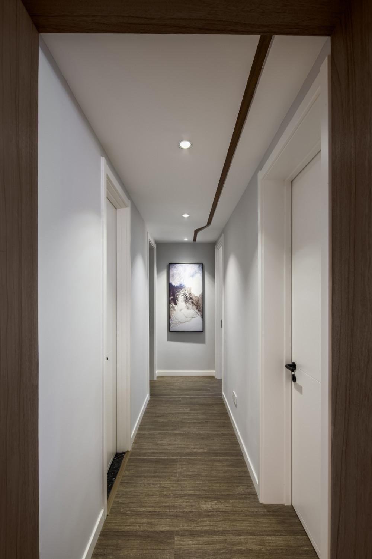 100㎡简约风格家门厅走廊