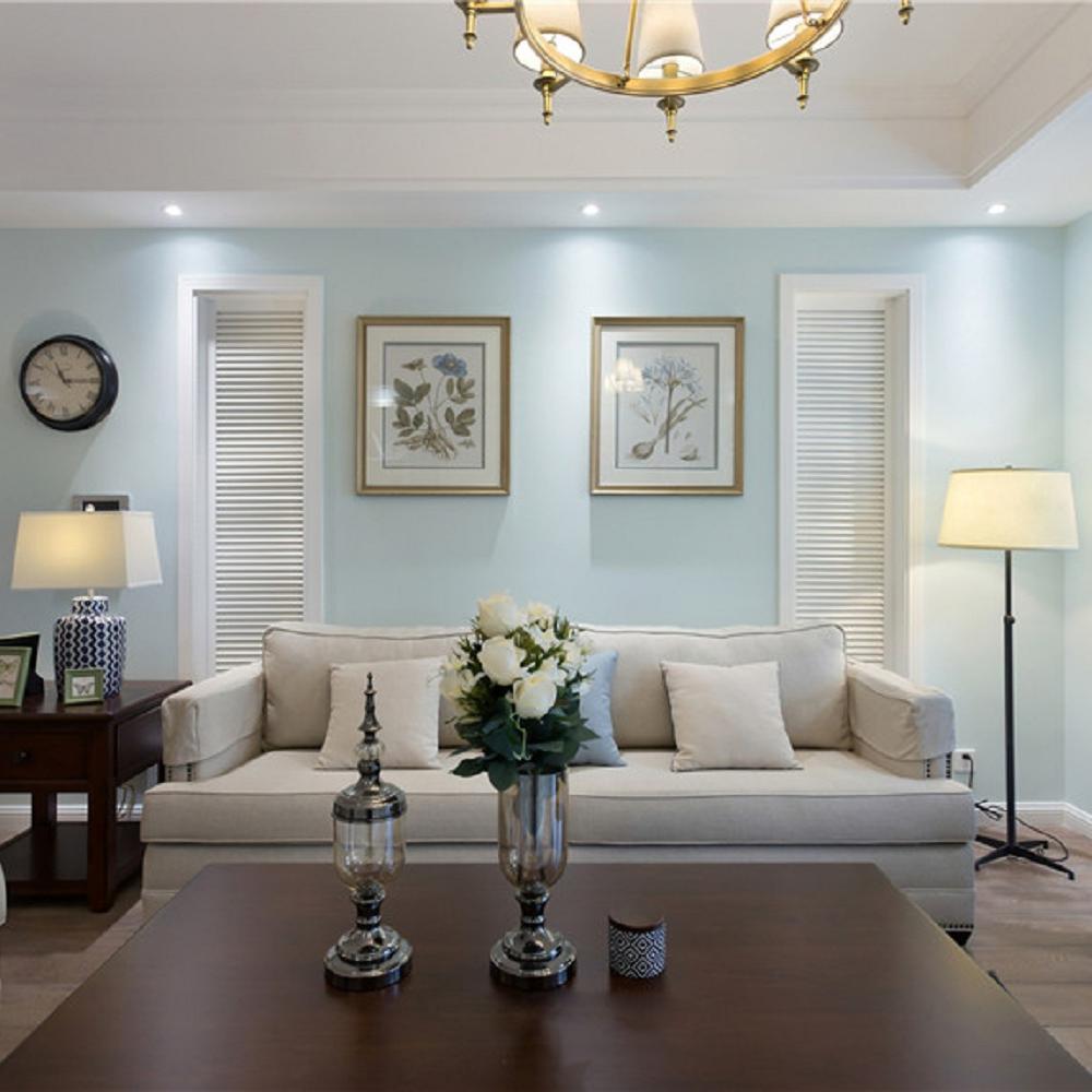 130㎡美式三居之家 温馨浅蓝