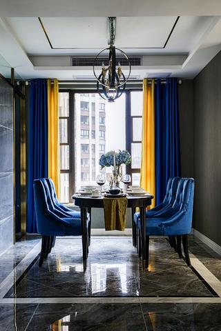 四居室新古典设计餐桌椅图片