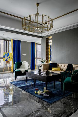 四居室新古典设计茶几图片