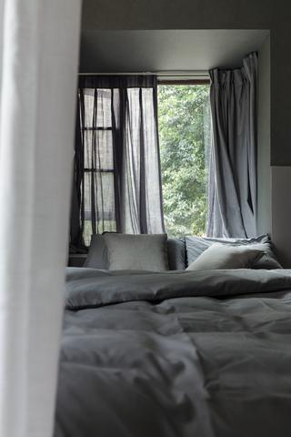 118㎡二居室裝修飄窗設計