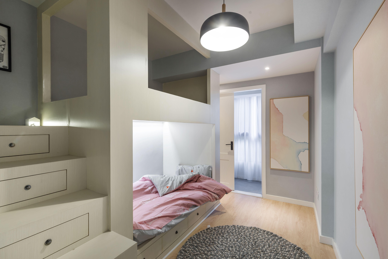 118㎡二居室装修儿童房效果图