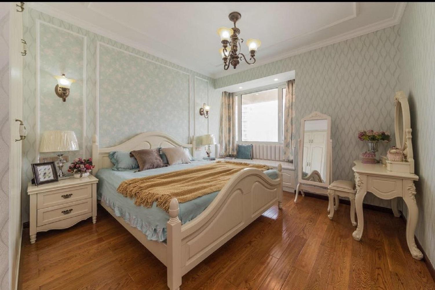 140平欧式风格装修卧室效果图