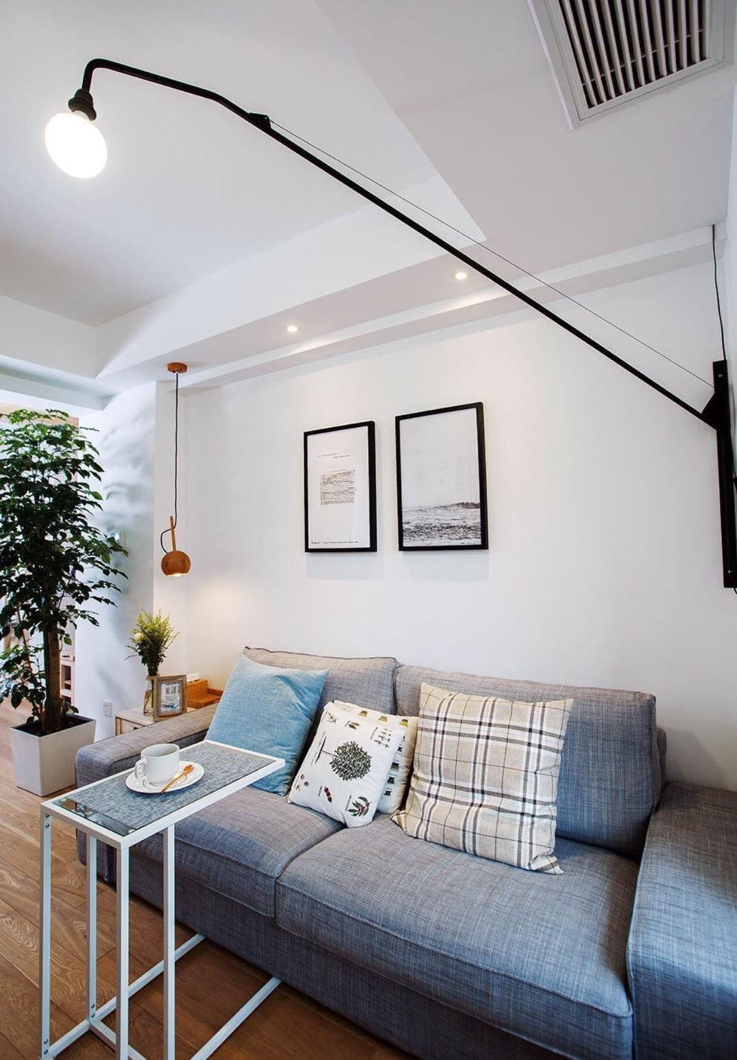 100㎡北欧雅居装修壁灯设计