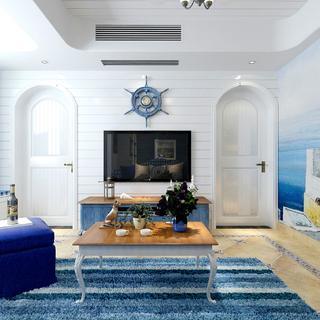 三居室地中海风格家 浪漫之旅