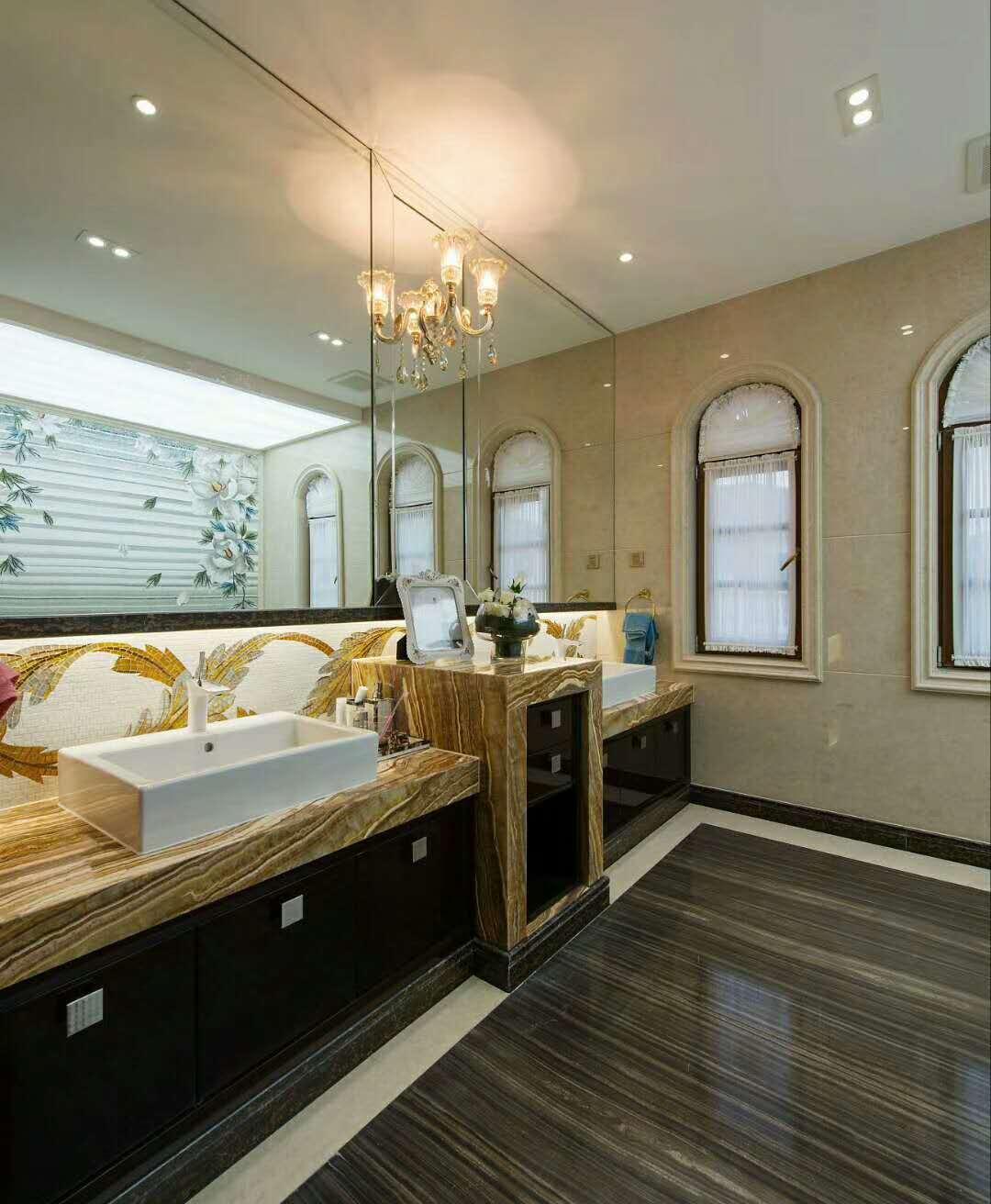 欧式古典别墅装修卫生间装潢图