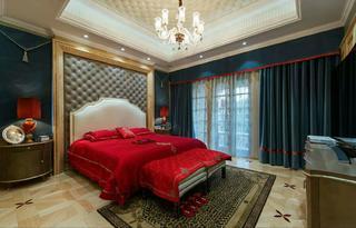欧式古典别墅装修卧室效果图
