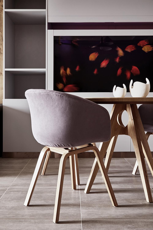 北欧简约装修餐椅图片