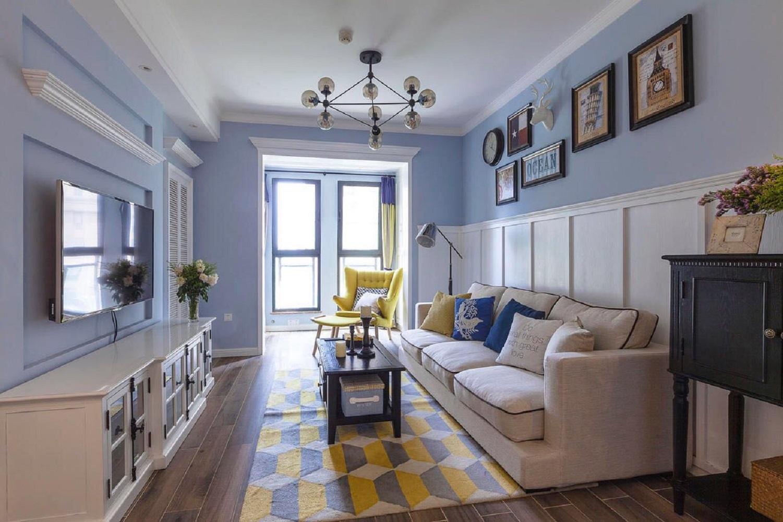 小户型美式之家客厅设计图