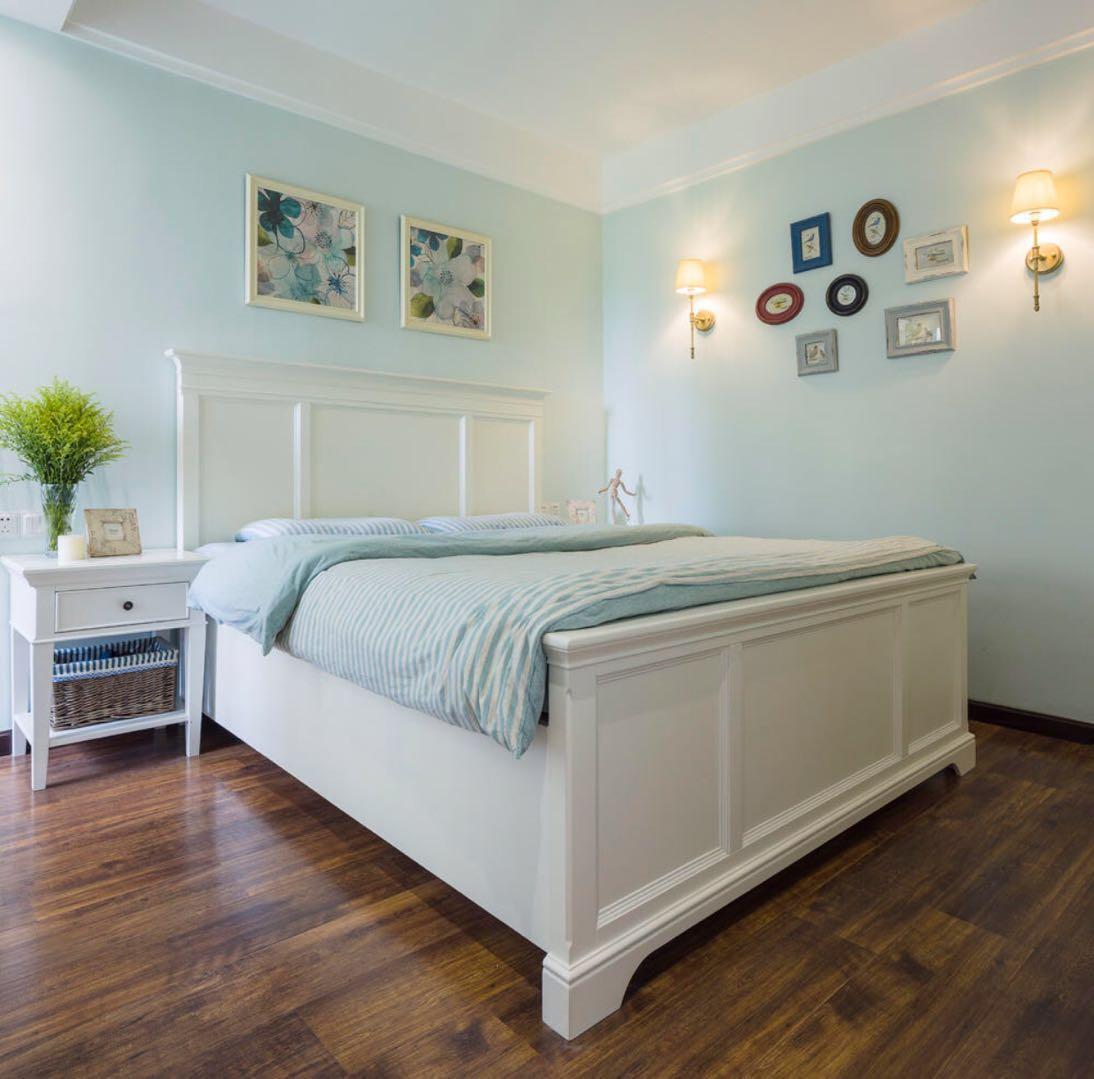 小户型美式之家卧室效果图