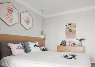 创意北欧风装修卧室效果图