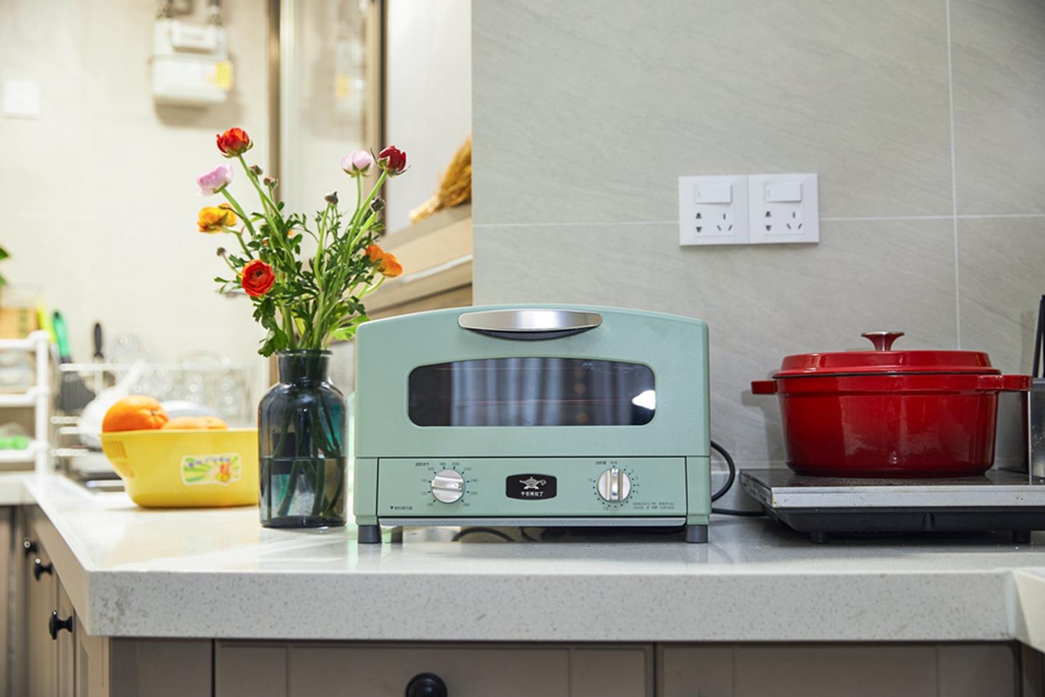 80平北欧风设计烤箱图片