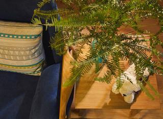 80平北欧风设计边桌装饰摆件