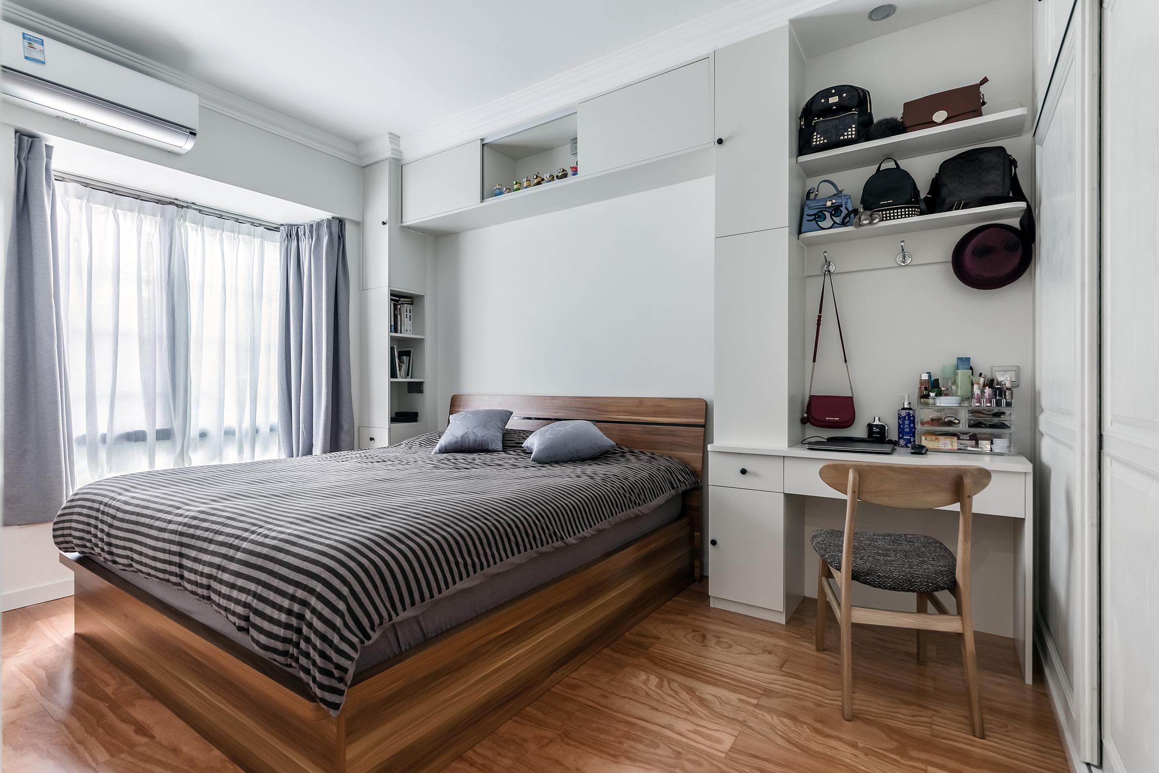 简约实用三房装修卧室设计图