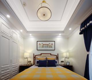大户型法式装修床头墙图片