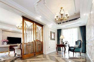 大户型法式装修客厅隔断设计