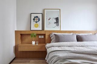 170平素朴简约风装修床头一角装饰摆件