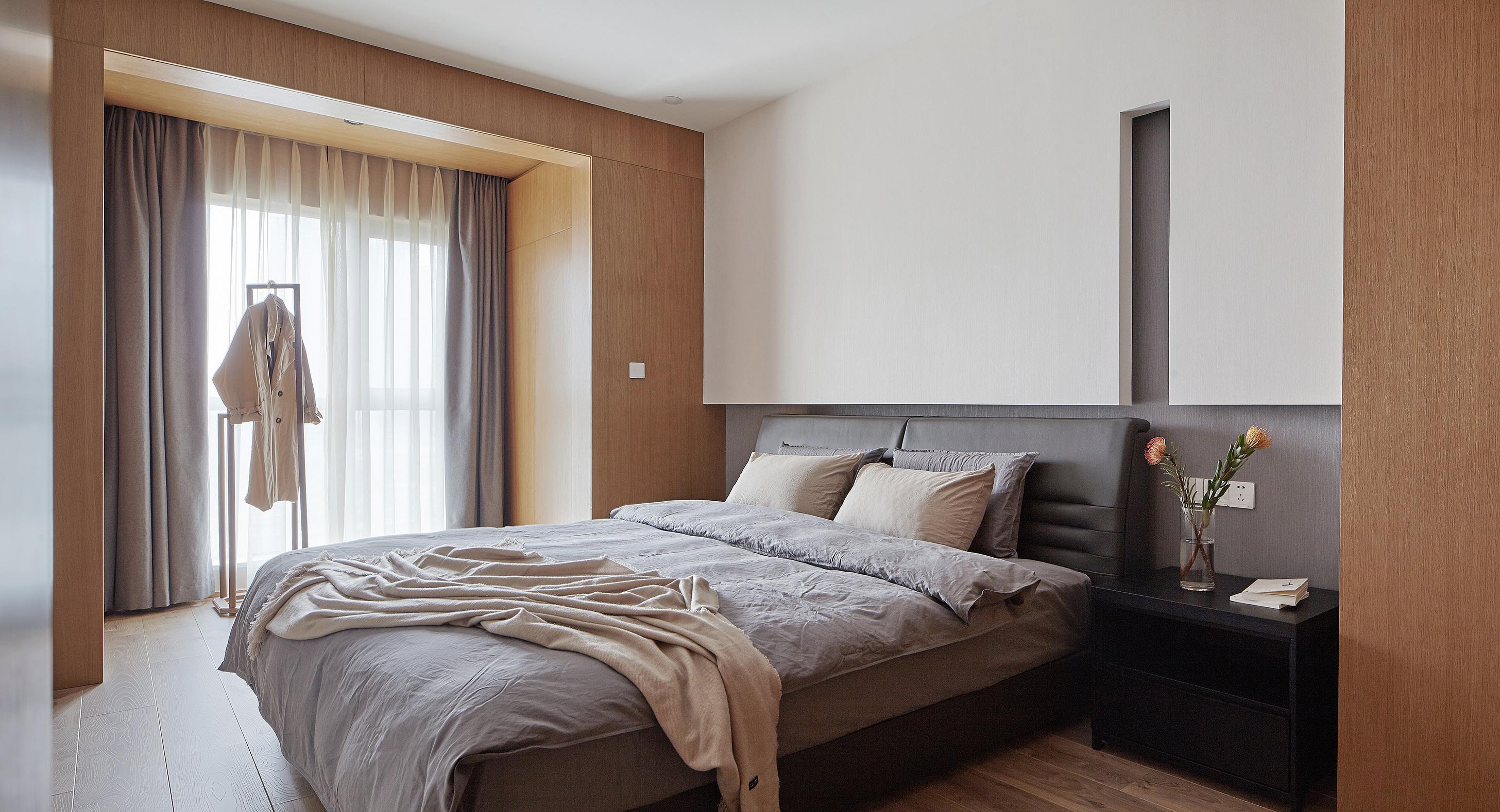 170平素朴简约风装修卧室效果图
