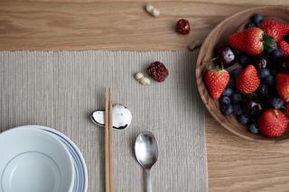 170平素朴简约风装修餐具特写
