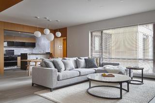 170平素朴简约风装修沙发茶几图片