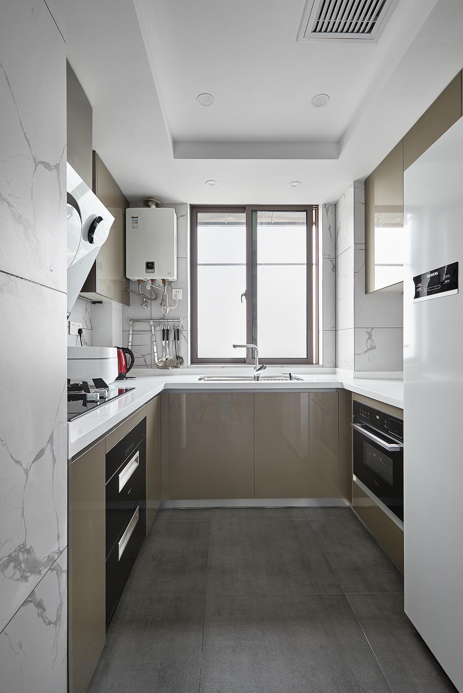 简约三居室装修厨房效果图