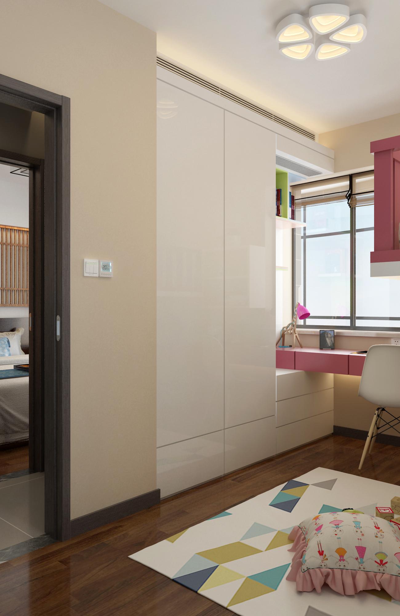 三居室现代风格家衣柜图片