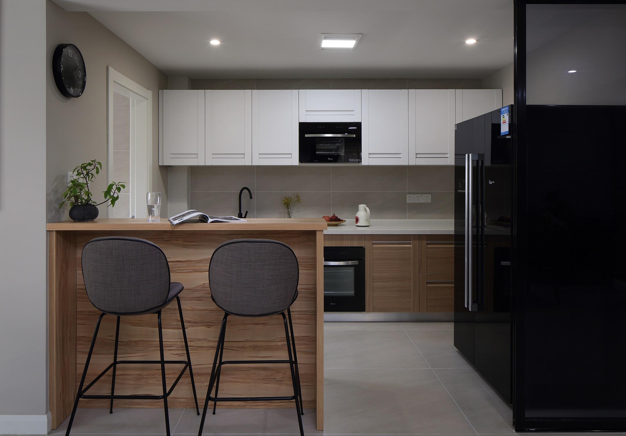 180㎡简约风之家厨房设计图