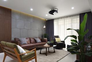 180㎡简约风之家沙发背景墙图片