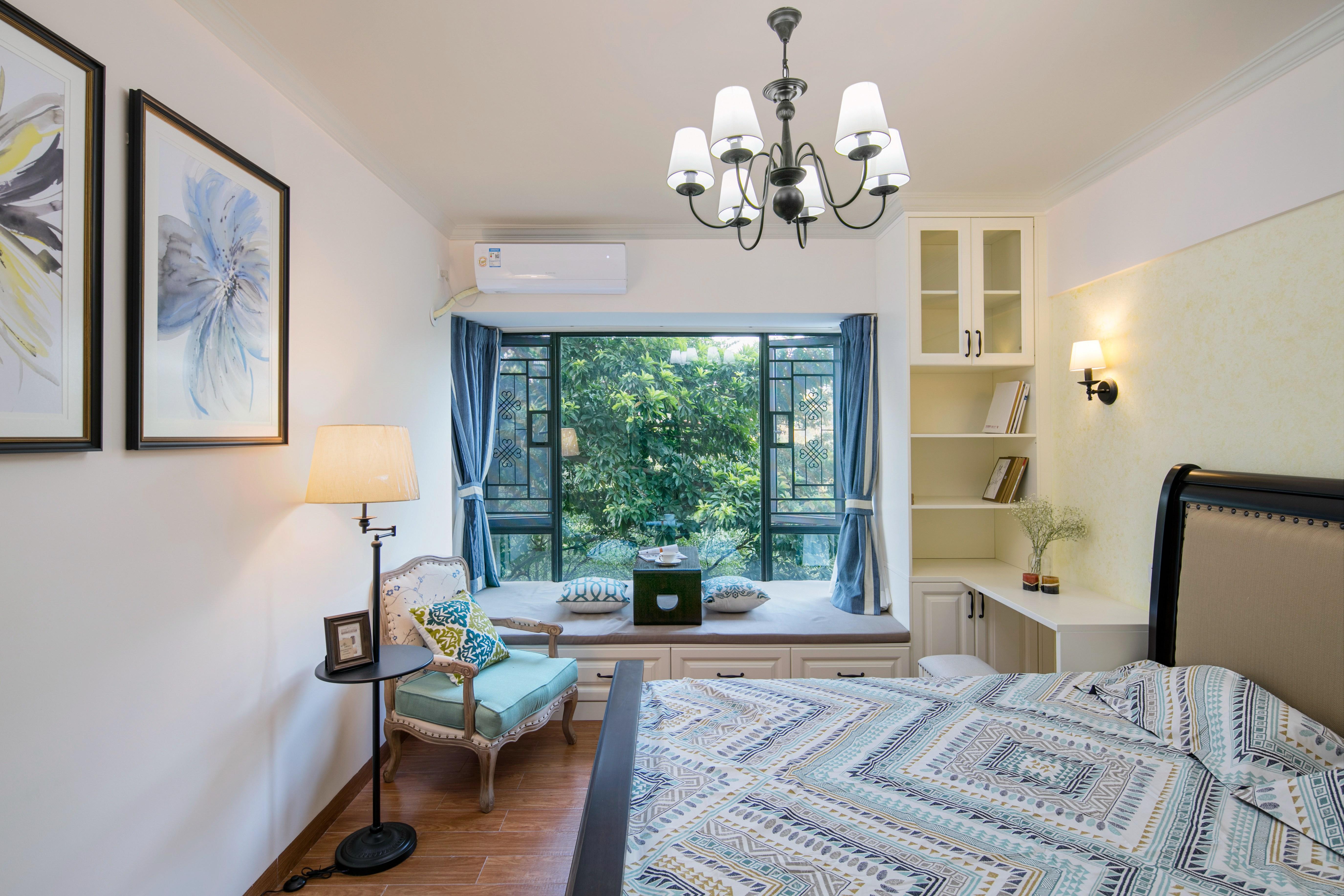 四居室美式装修卧室效果图