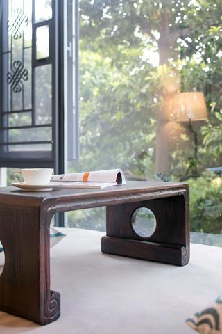 四居室美式装修茶台图片