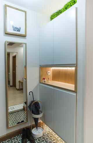 110平日式风格家鞋柜图片