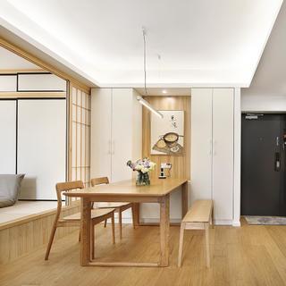 二居室简约日式家 情迷原生态